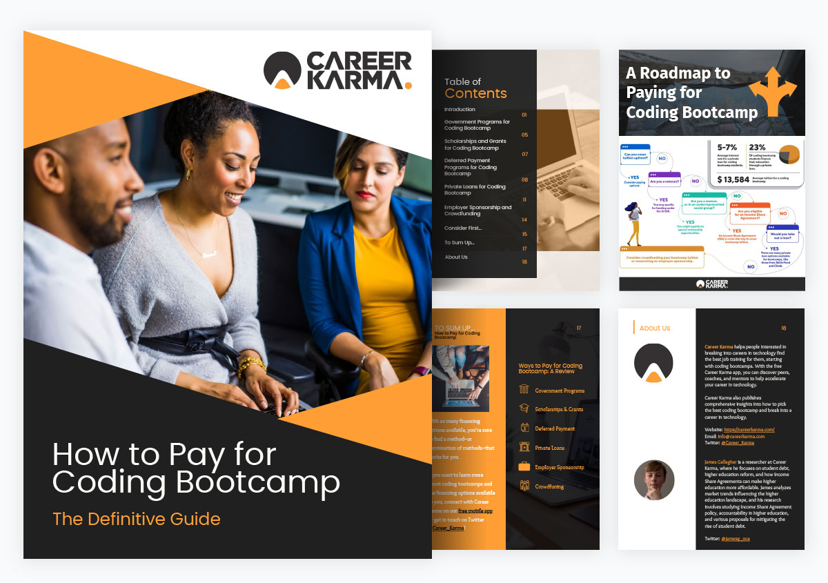 case study visme increased website traffic - how to pay for coding bootcamp by career karma