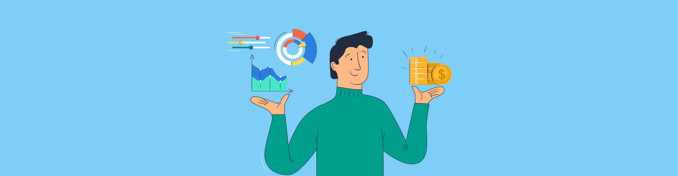 data visualization startup funding - header