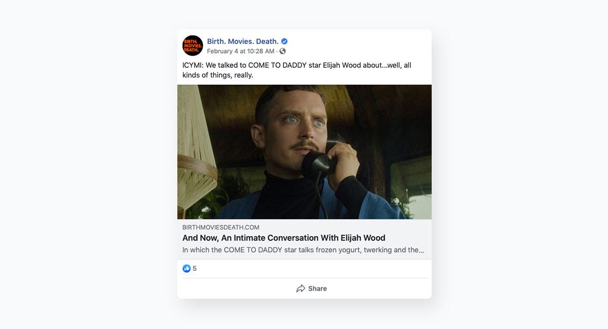 social media content - facebook content