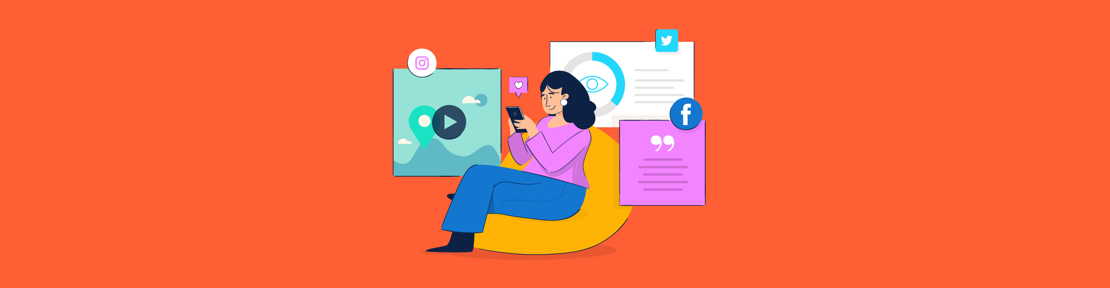 Social Media Content: 10 Types to Get You More Engagement