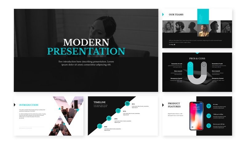 visme unleashed - modern theme