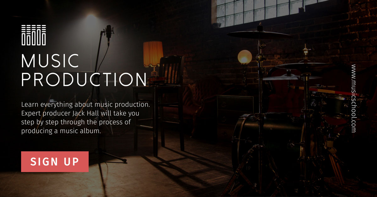 digital products - music production social media template