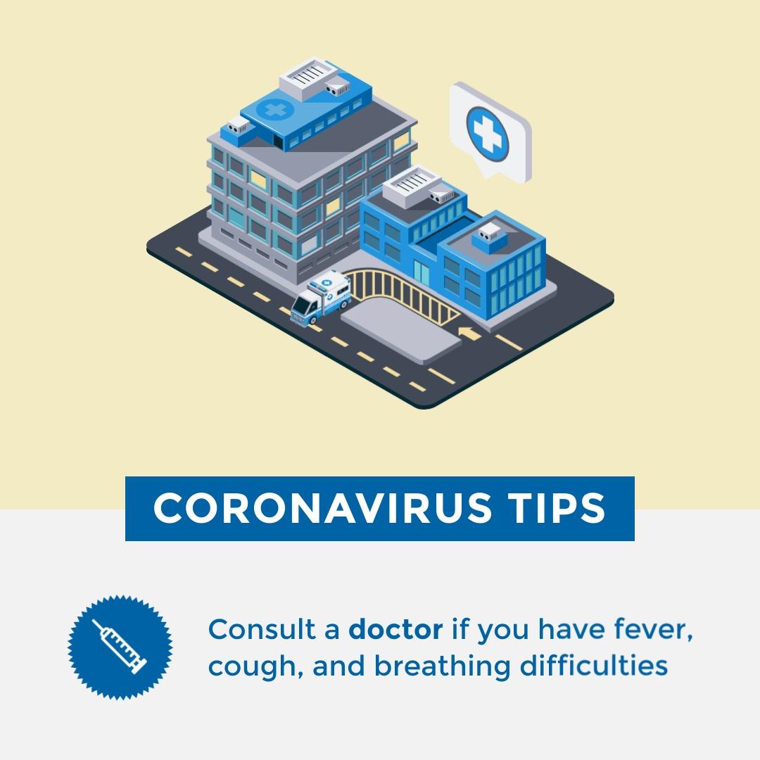 coronavirus templates - coronavirus tips template