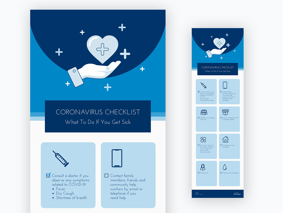 coronavirus templates - coronavirus checklist