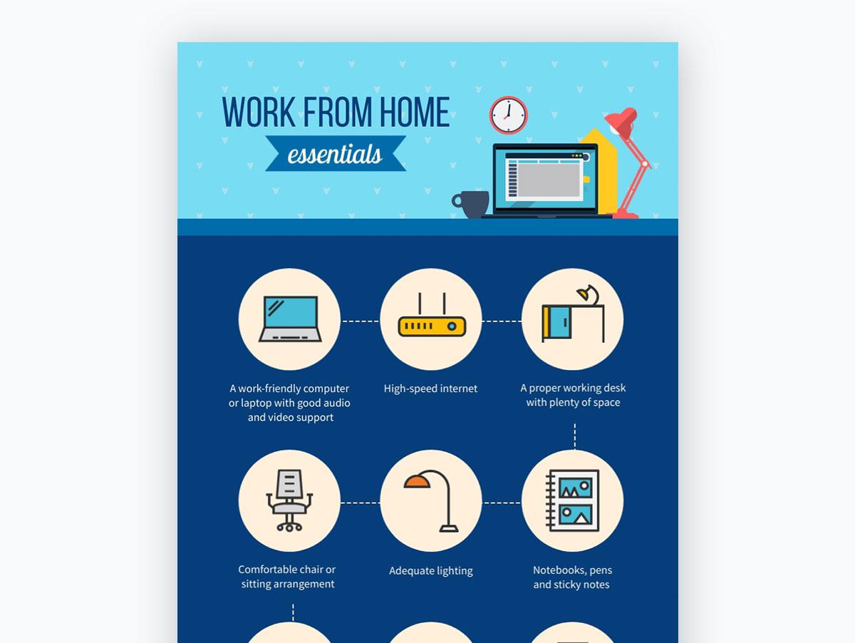 coronavirus templates - work from home essentials