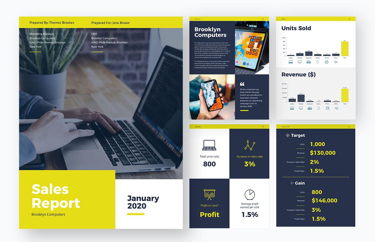remote team templates - Annual-report