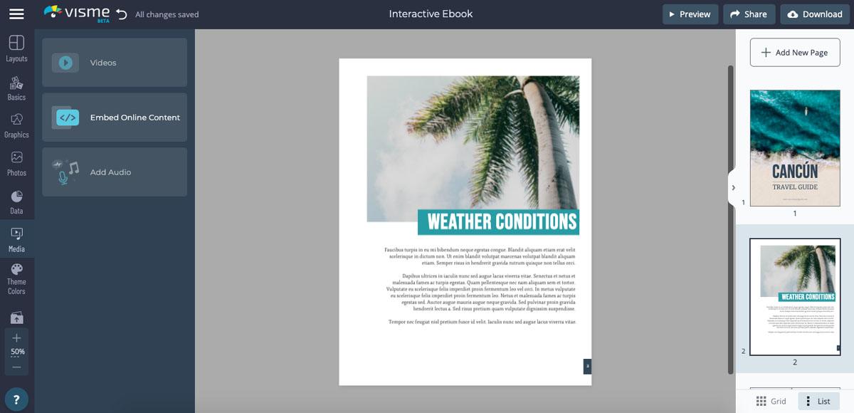 interactive ebook - record voiceover