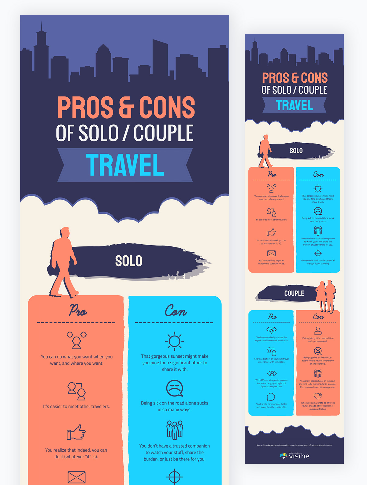 educational infographics - comparison infographic examples