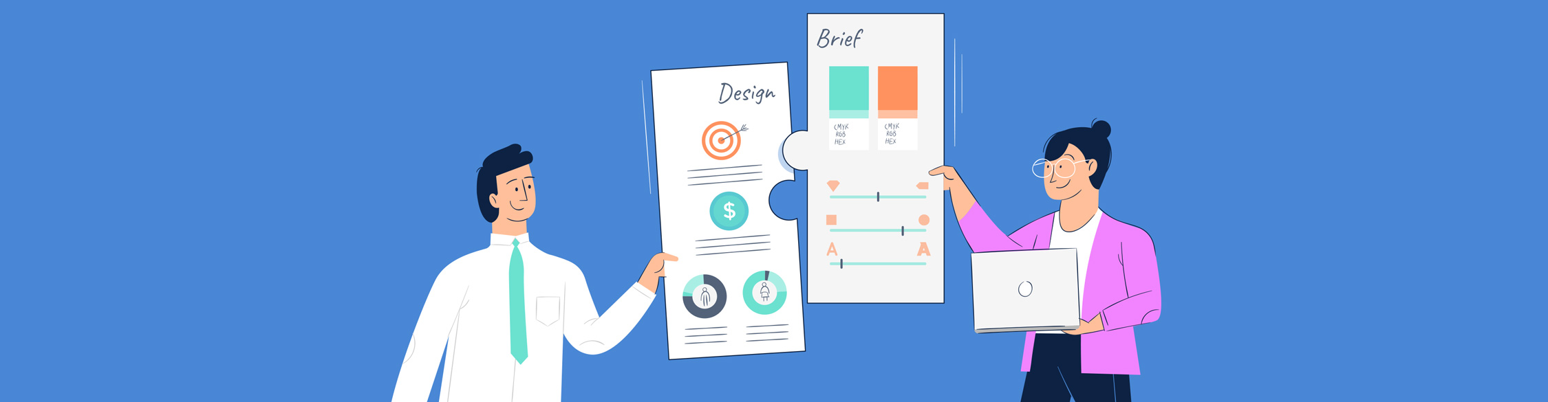 design brief - header