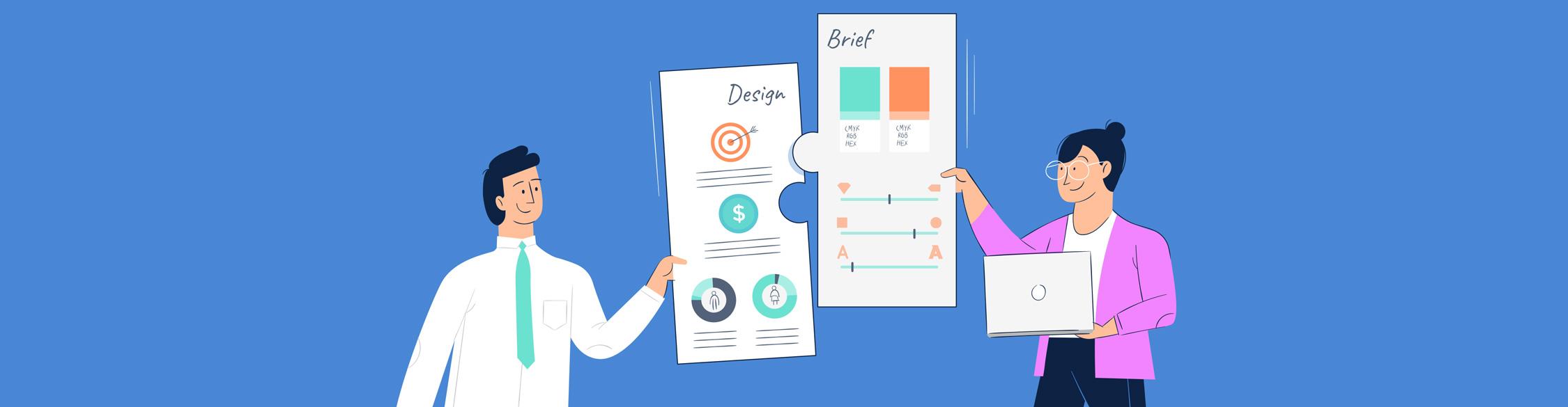 design brief - header