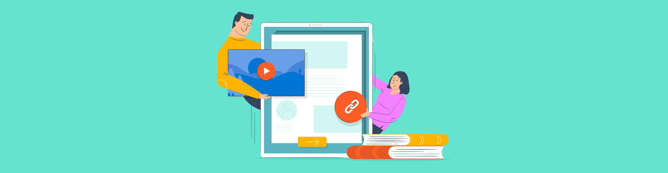 interactive ebook - header