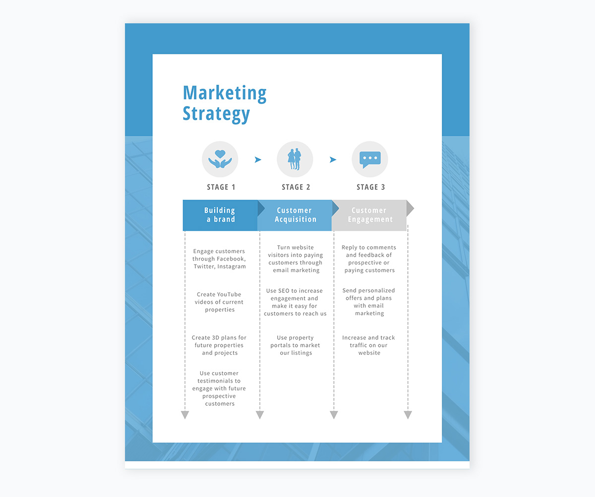 marketing plan strategy template