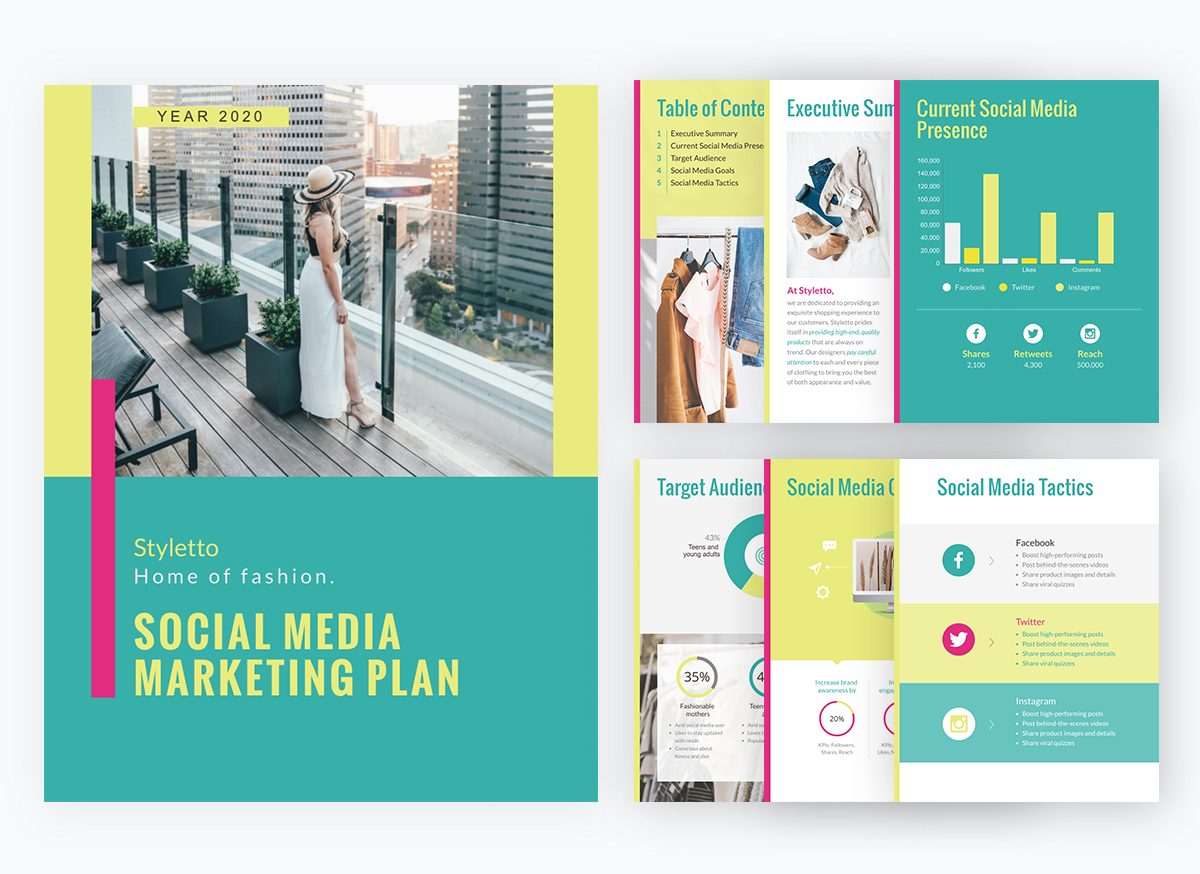 virtual event - promotional plan template