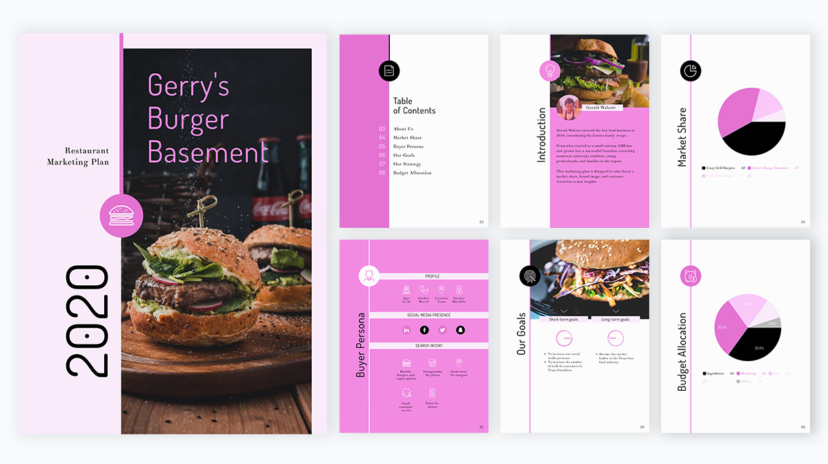Restaurant-marketing-plan-template