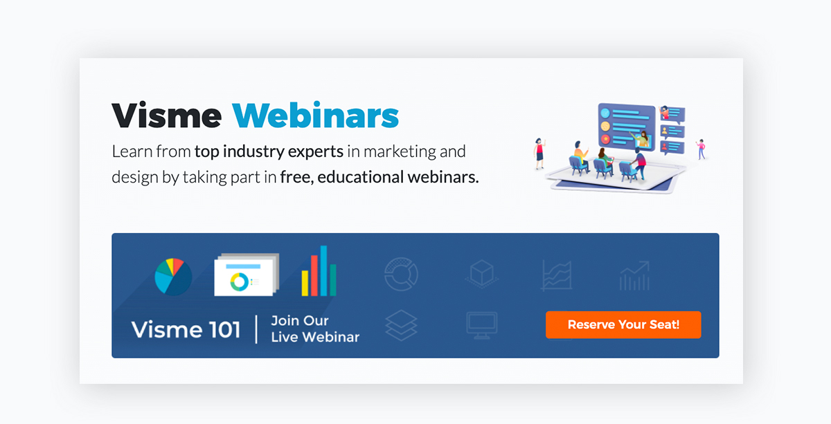 virtual event - webinar example