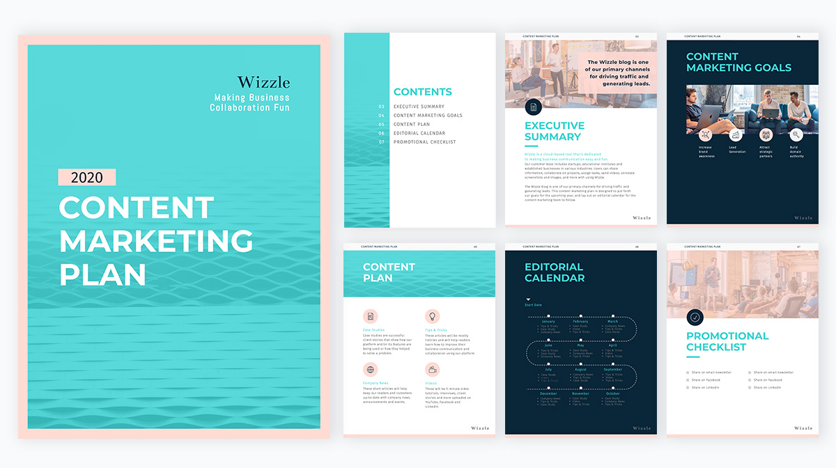marketing plan - Content-marketing-plan-template