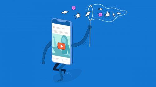 social media videos - header
