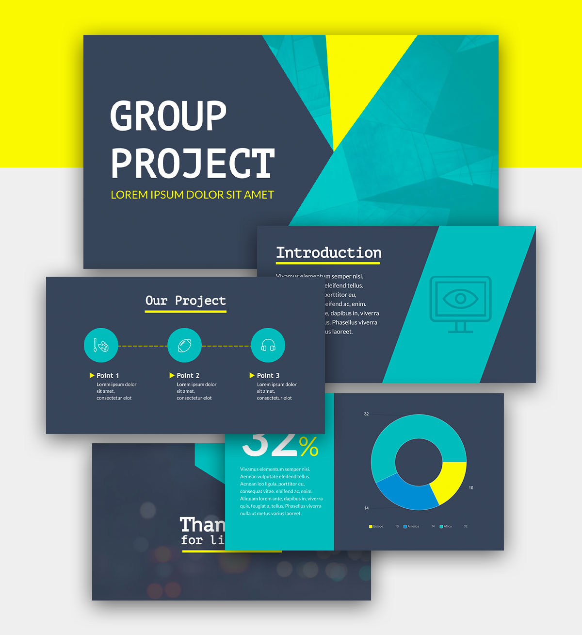 powerpoint infographic - informational presentation template