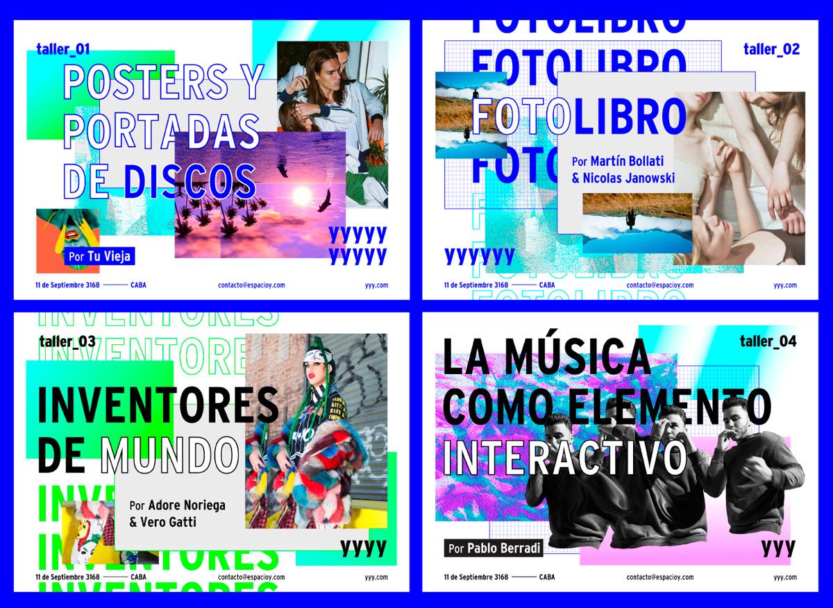 flyer examples - y espacio culture flyer