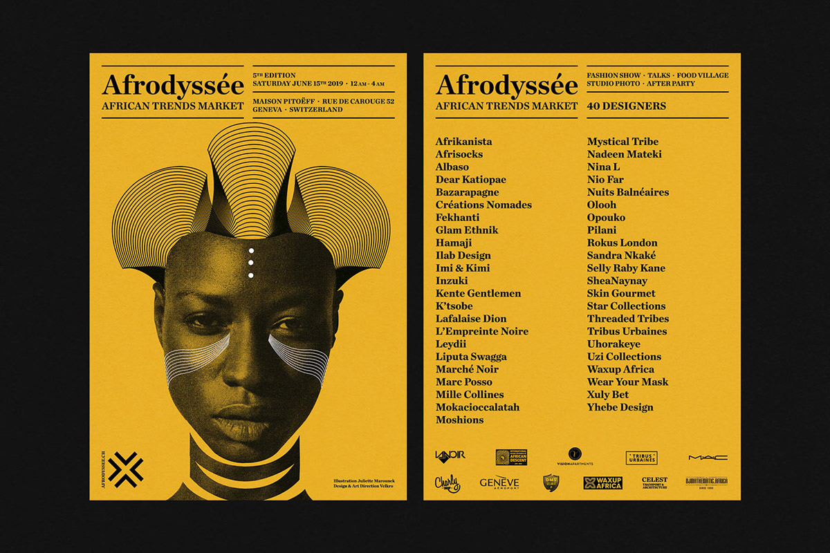flyer examples - afrodysee flyer