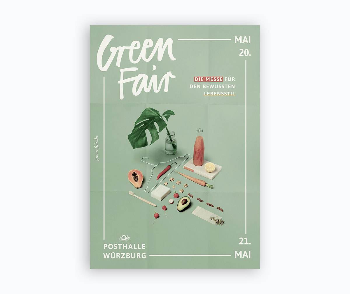 flyer examples - green fair flyer