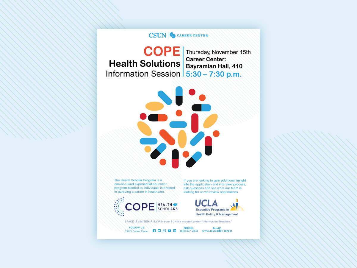 flyer examples - cope health solutions