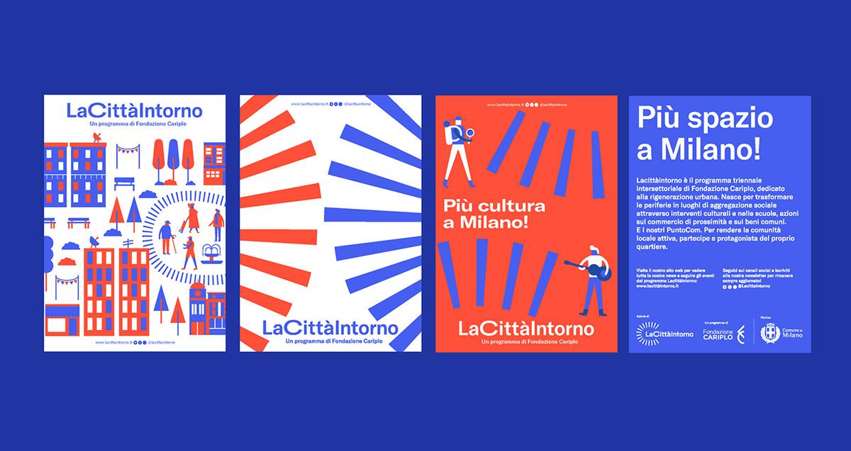 flyer examples - la citta intorno