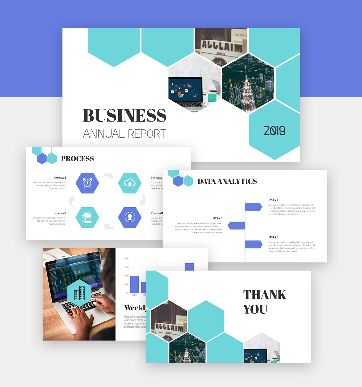 powerpoint infographic - business presentation template