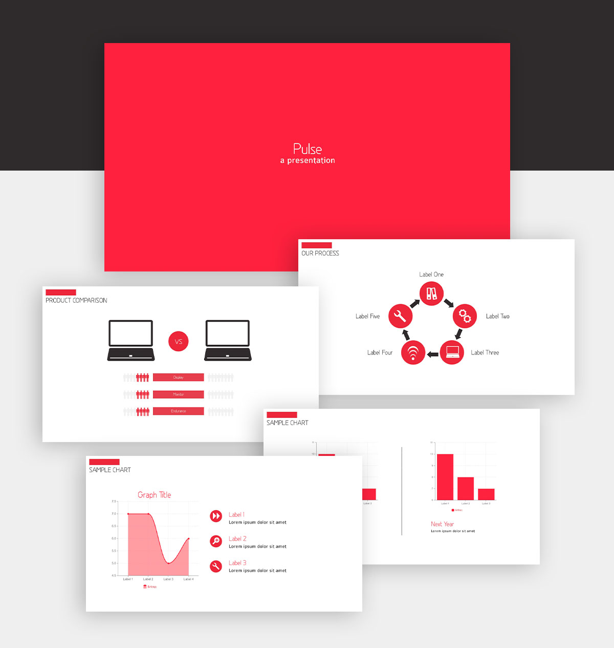 powerpoint infographic - basic presentation template