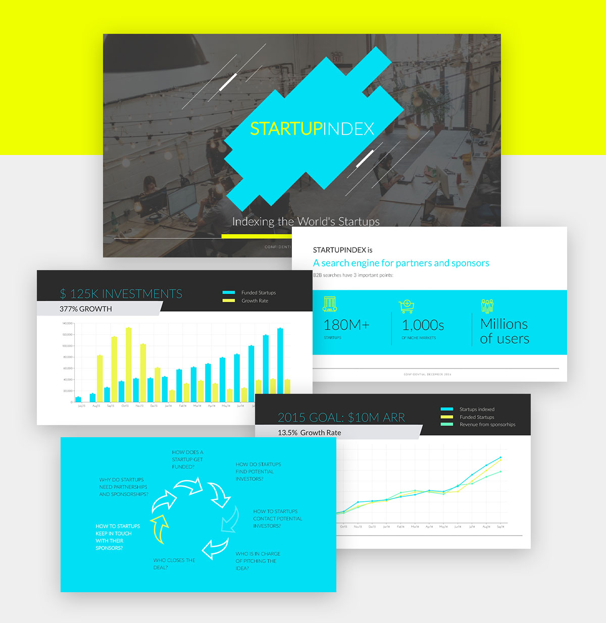 powerpoint infographic - startup presentation template