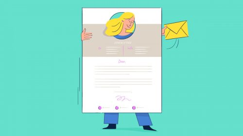 cover letter template - featured image