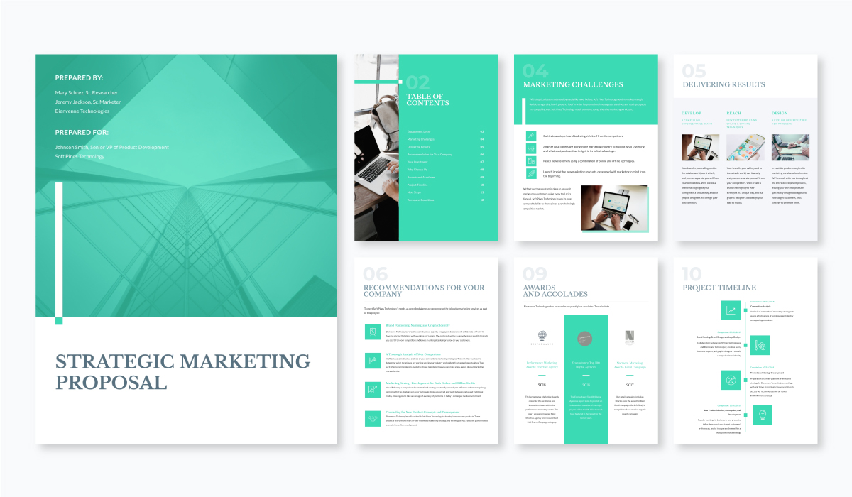 strategic marketing proposal template