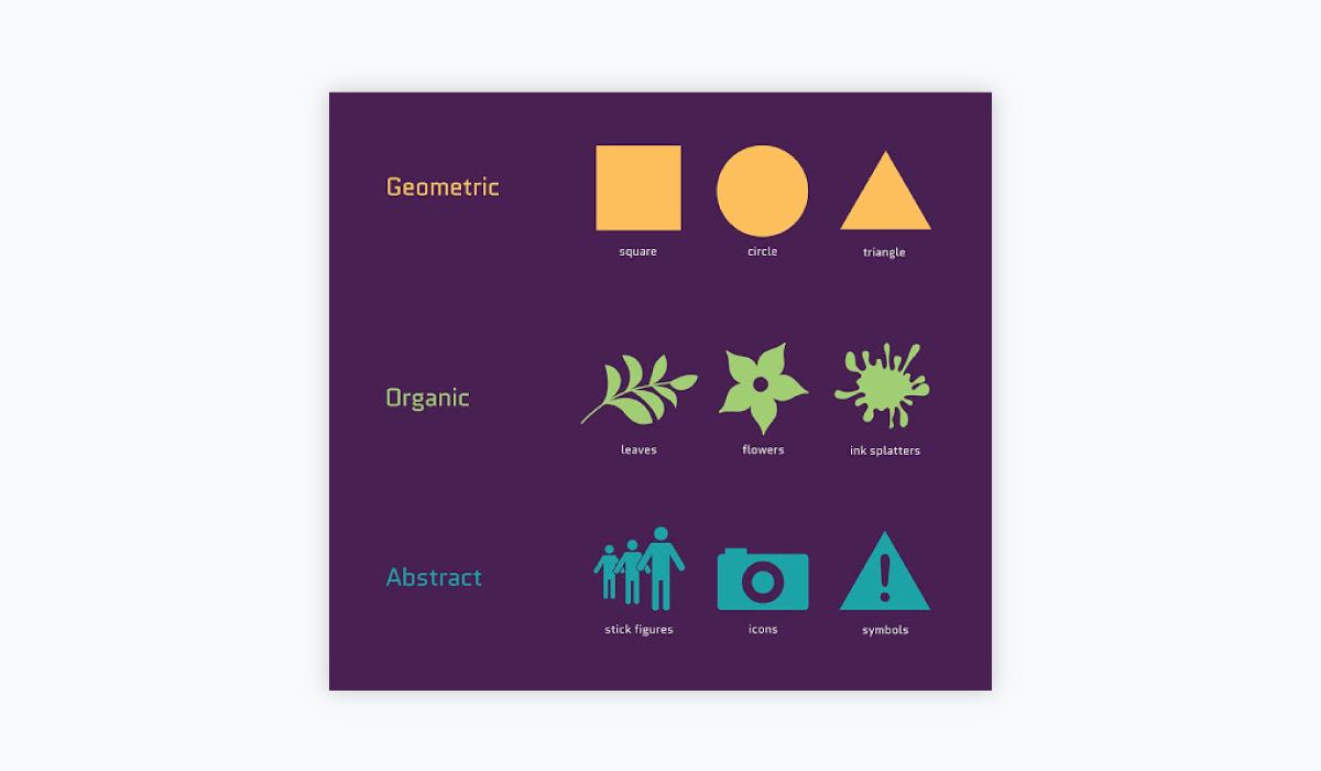 how to design a logo - keep shape psychology in mind