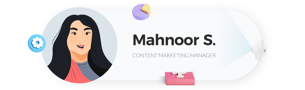 visme gif maker - mahnoor content manager at visme