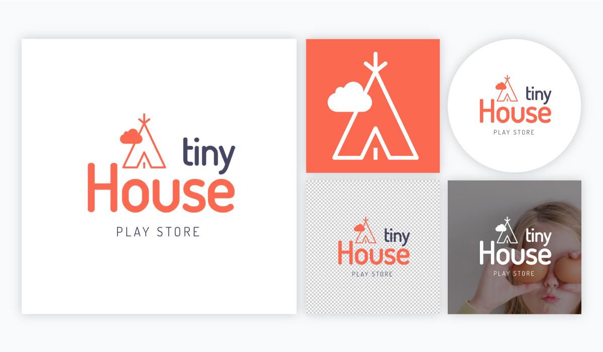 how to design a logo - logo variations