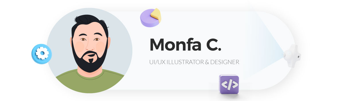 visme case study - monfa illustrator at visme