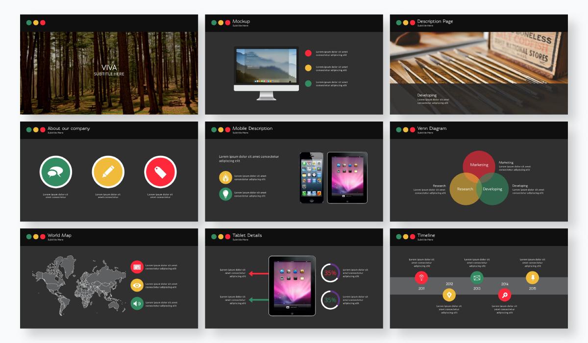 business plan presentation - business presentation template
