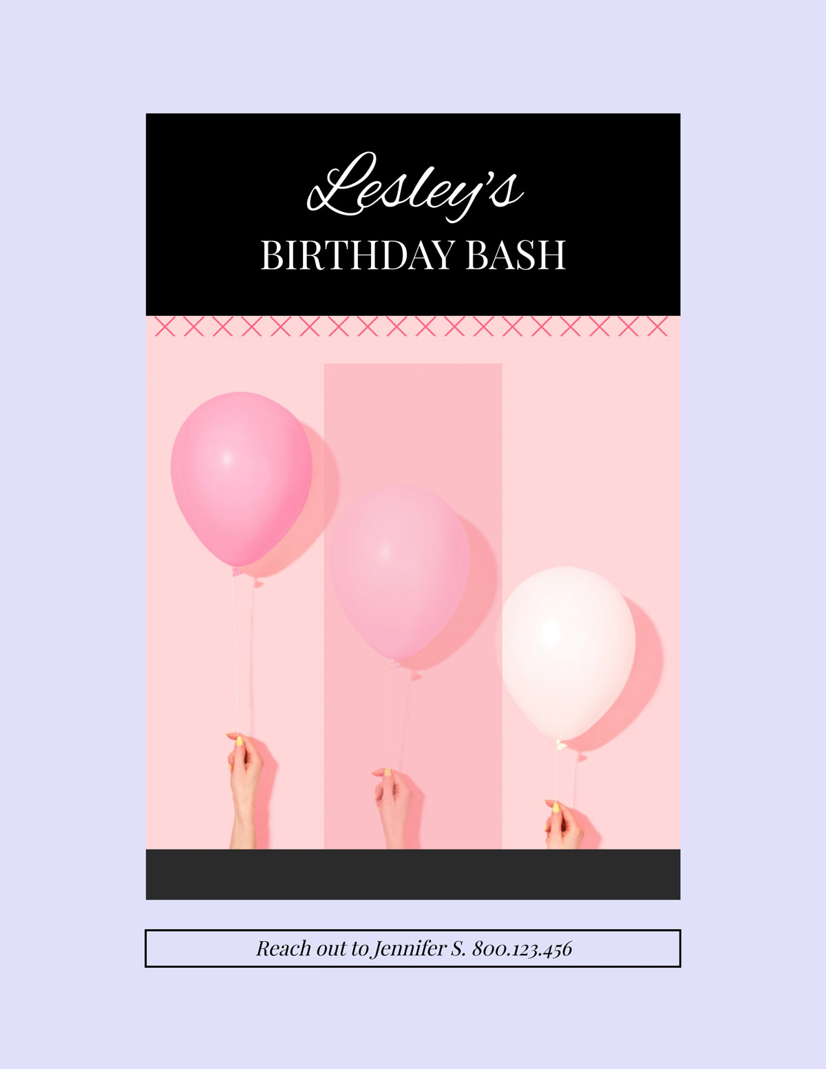 flyer templates - birthday bash event