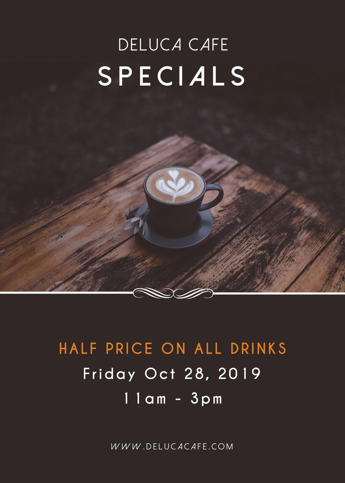 flyer templates - coffee cafe menu special