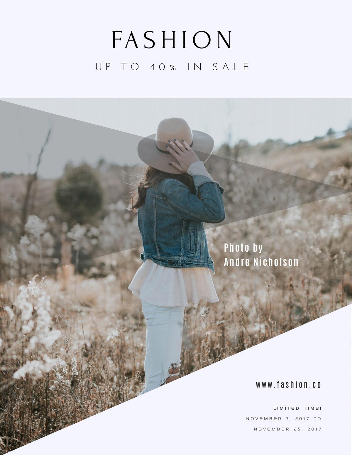 flyer templates - fashion sale