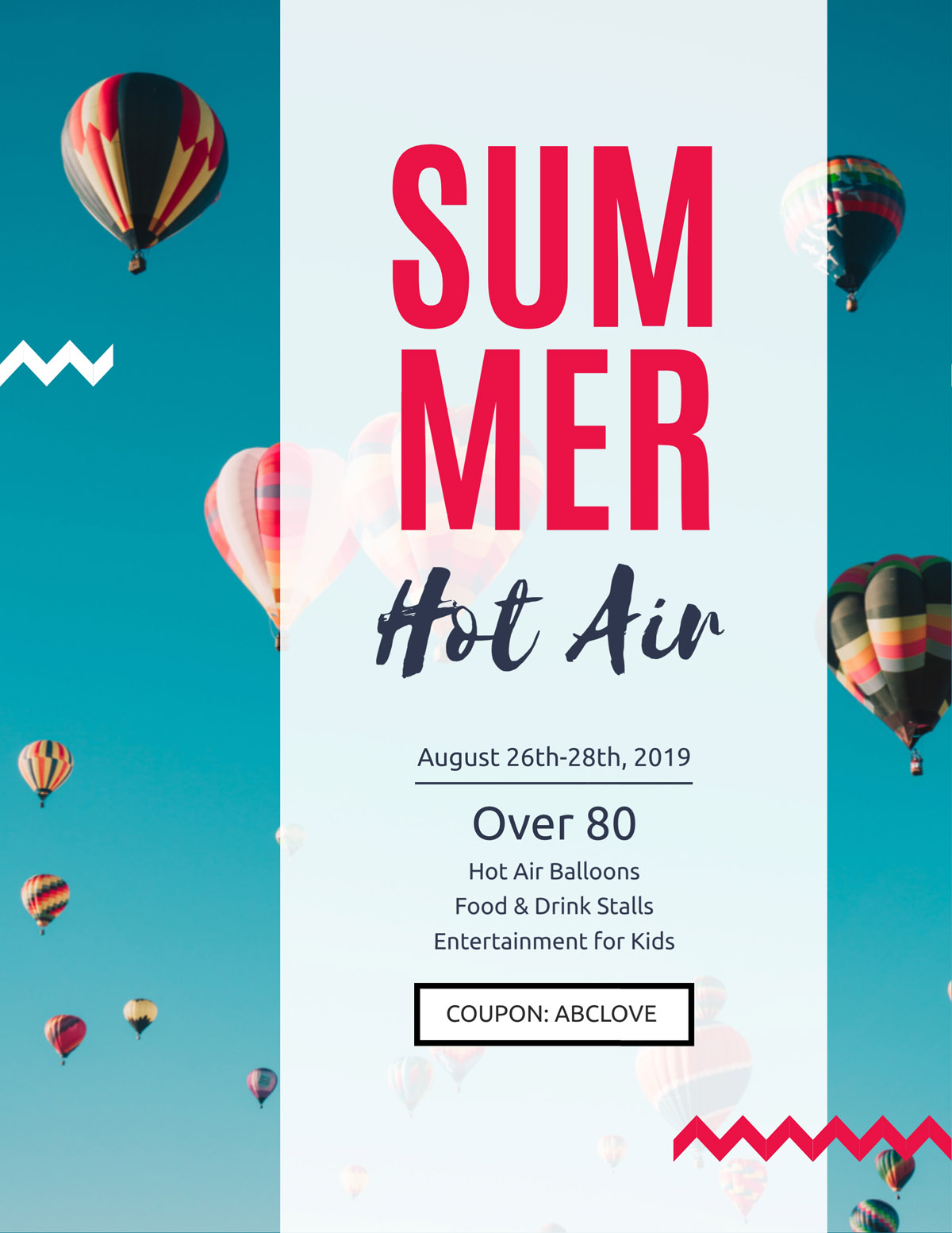 flyer templates - outdoor travel tour event