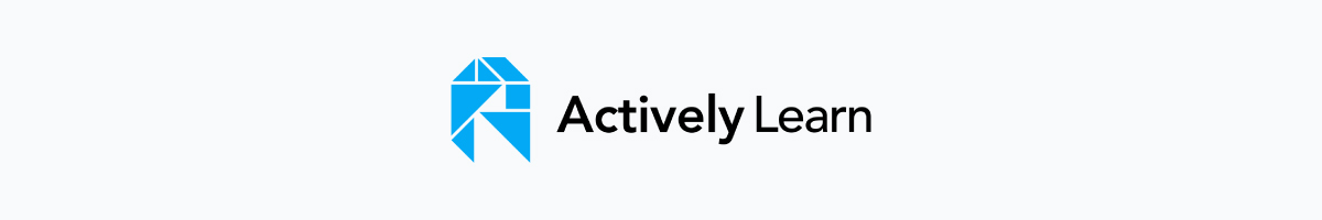 online teaching tools - actively learn logo