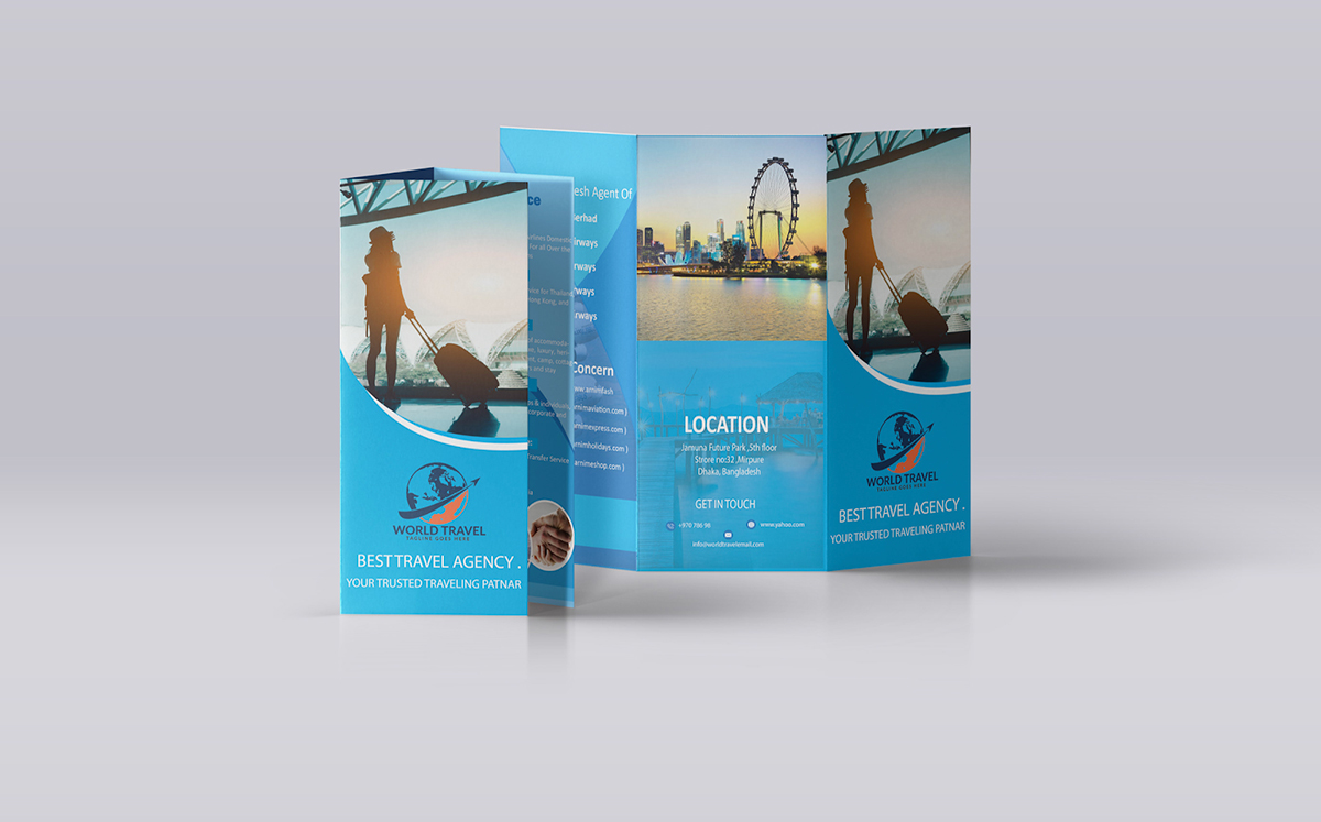 brochure ideas - use quality visual assets