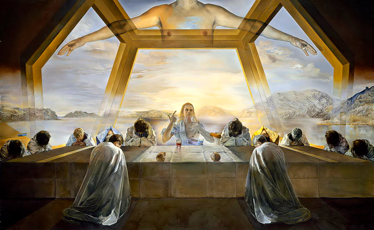 golden ratio - the last supper