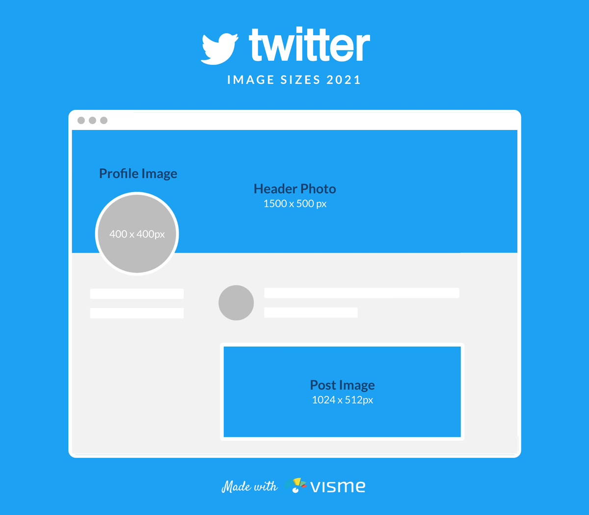 A mockup of Twitter's image sizes.