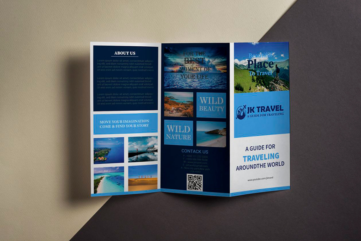 brochure ideas - organize your copy with colors