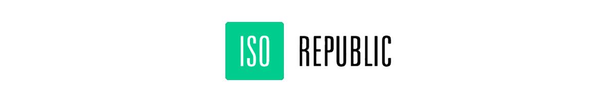 free stock photos - iso republic logo
