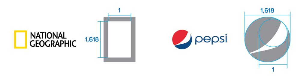golden ratio in logos
