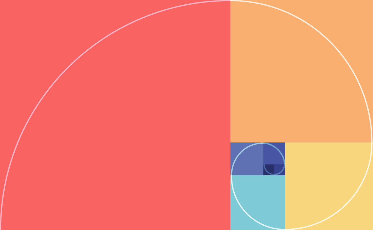 golden ratio - circular design