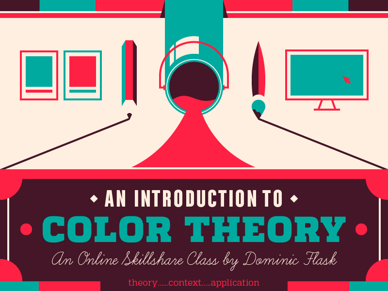 graphic design courses - color theory course